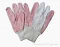 PVC dotted cotton glove for worker 3