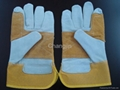 popular style leather safety glove  5