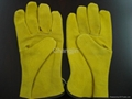 Pig leather driver glove 2