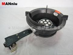 MANniu X73  7-Circles IR Electronic fast gas burner stoves
