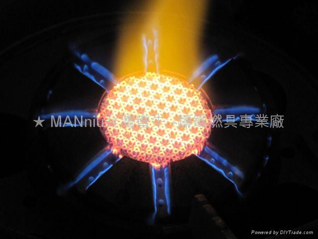 XG33   IR+Fry all-in-1 electronic iron gas burners 2