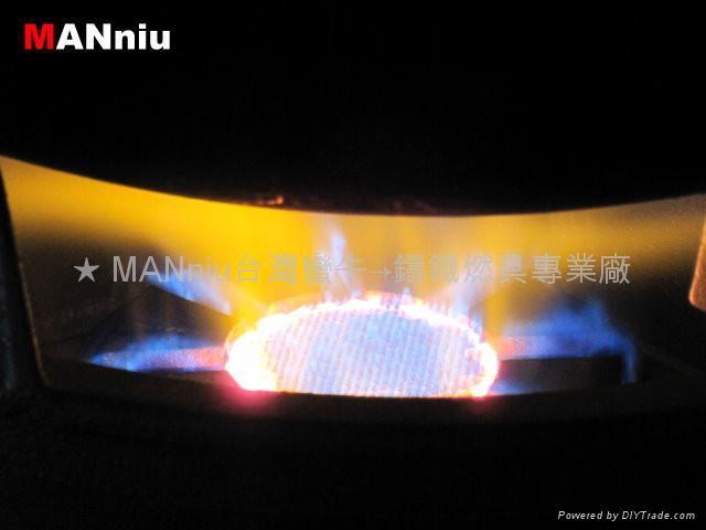 XG33   IR+Fry all-in-1 electronic iron gas burners 3