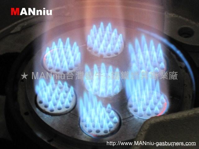 X73 Seven IR fast iron gas burner 2