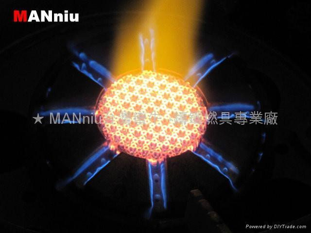 XG32   雙心紅外線快速爐猛火爐節能爐瓦斯爐 2