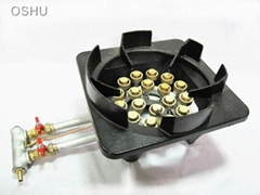 NH18A   Thermally efficient double-barreled 18 jet stove