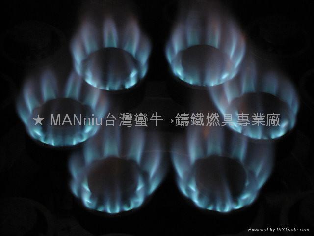 NP5AS   單管5頭天然氣噴火爐 2