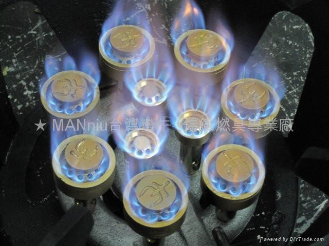 NP5AS   單管5頭天然氣噴火爐 5