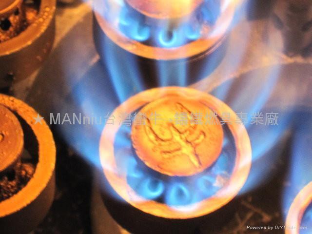 MANniu NP24VAM 雙管24頭天然氣噴火爐 2