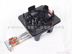 NH18V   高熱效雙管18頭噴火爐