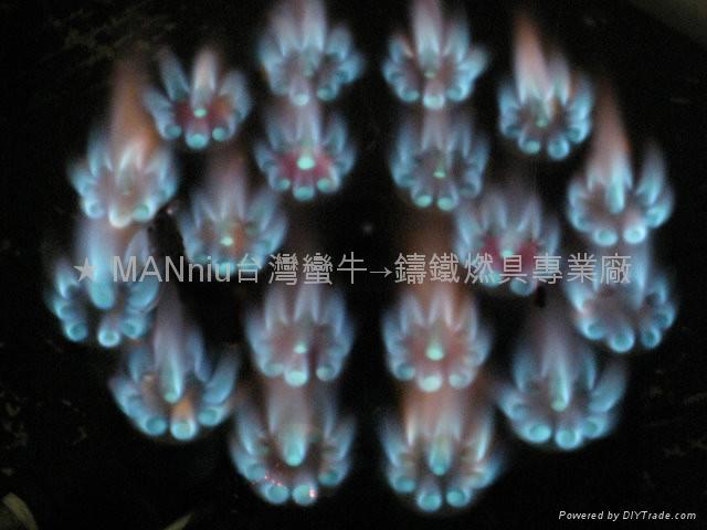 NP12V   双管12头天然气喷火炉 2