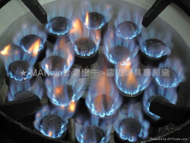 NP12V   双管12头天然气喷火炉 3