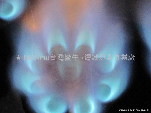 NP12V   双管12头天然气喷火炉 5