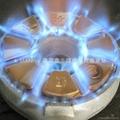 GB33 電子火爺鼎 正銅焰盤   火焰設計 2