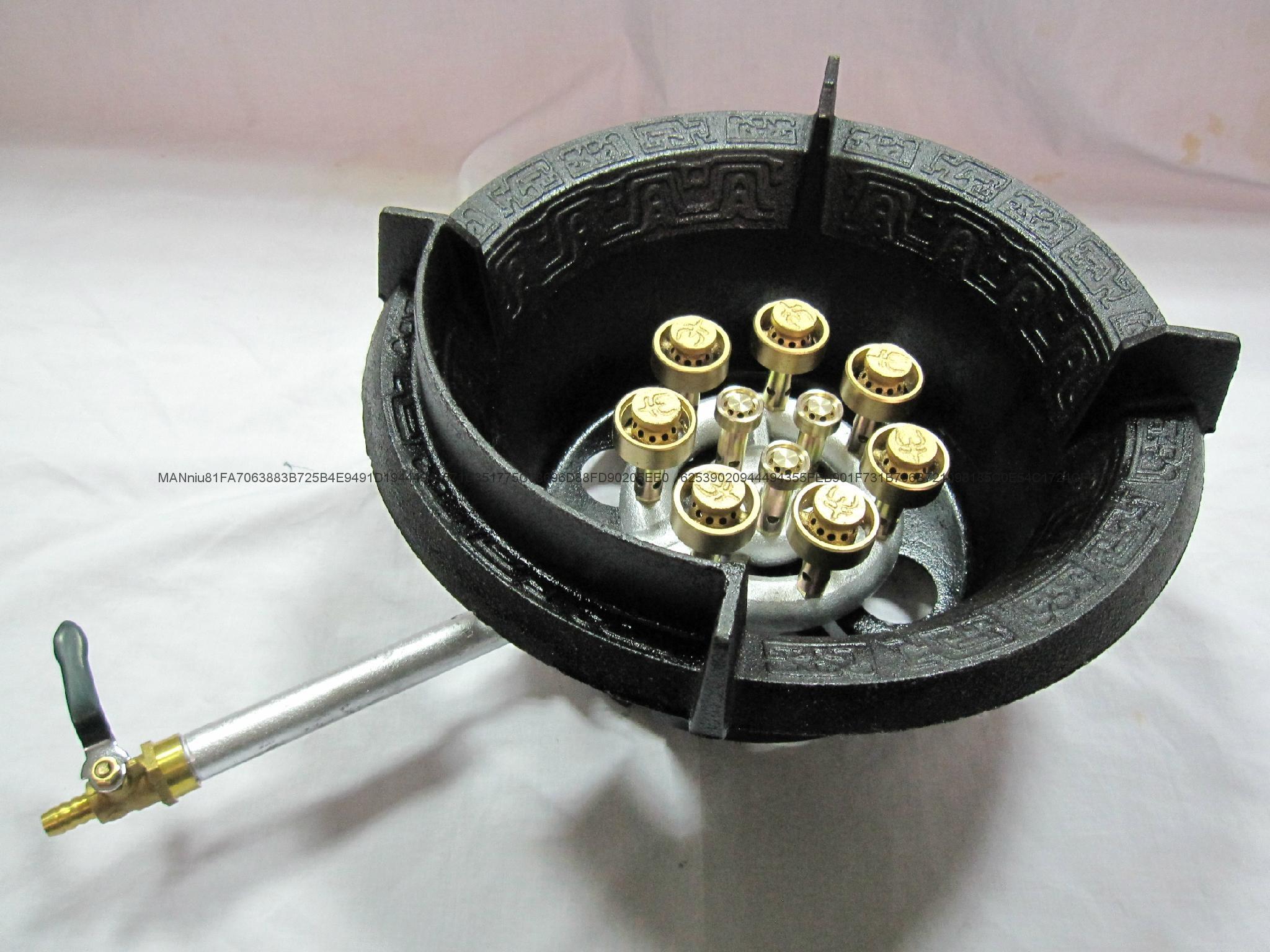 NP10AM   单管10头低压喷射炉