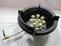 Single-tube 10-head jet stoves