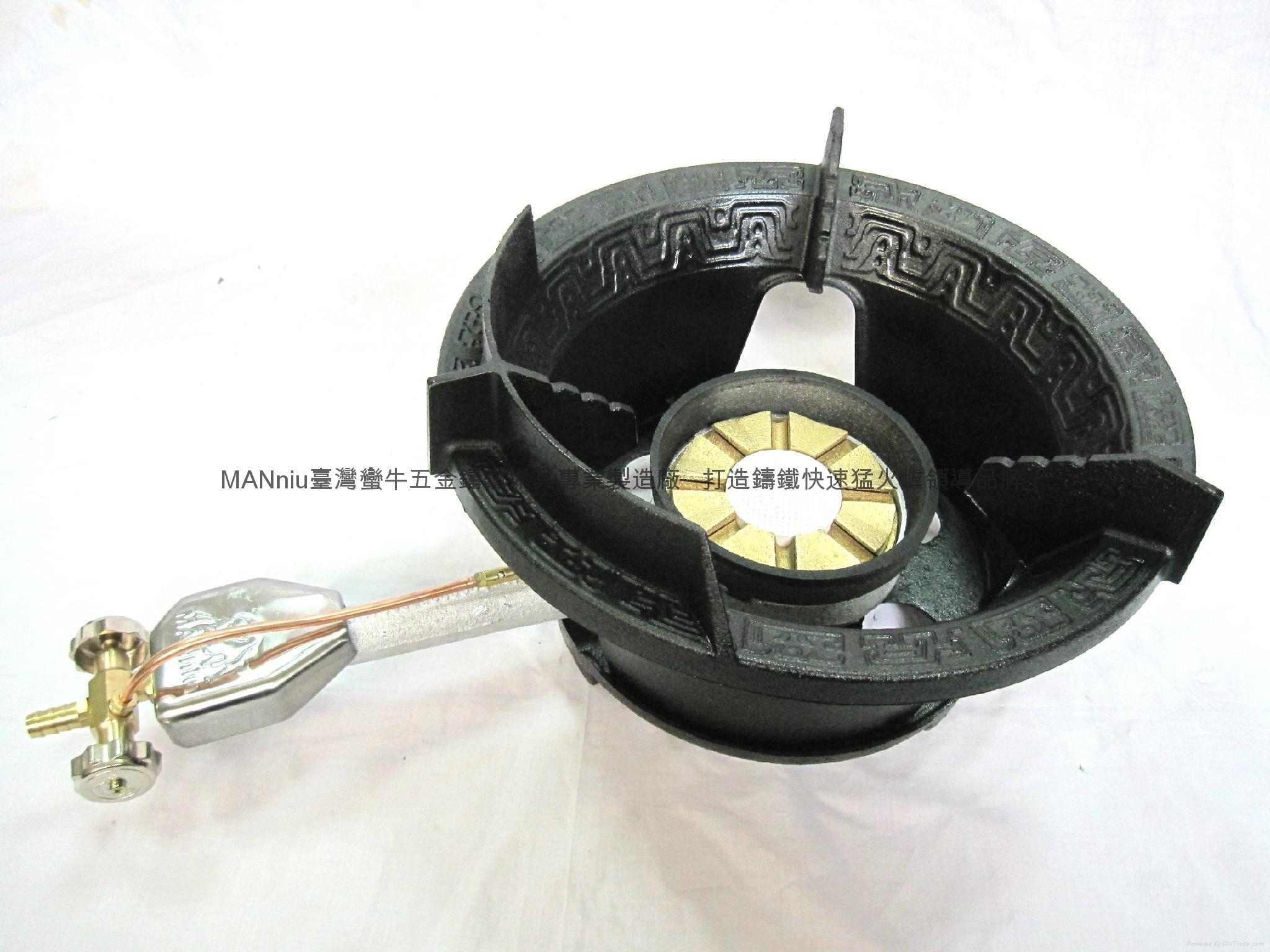 XG32  IR+Fry all-in-1 iron gas burners 1