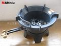 D81   New Paten Cast Iron Jet Burners,