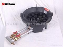 NW18V  雙管天然氣快速猛火爐