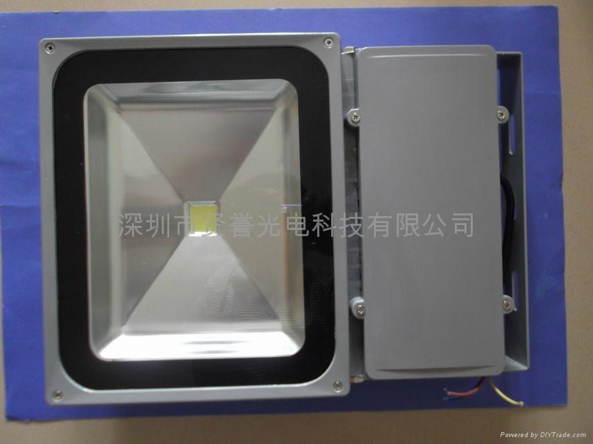 100W LED投光燈 1