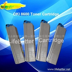国产代用OKI C8600粉盒 OKI8600墨粉 OKI8600碳粉匣