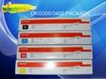 全新国产OKI C3300粉盒 OKI C3400粉盒 4