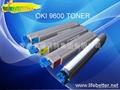 OKI9600toner OKI C9600 toner  cartridge