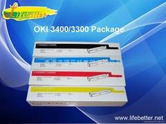 国产代用 OKI C3400粉盒 OKI3400墨粉 OKI C3400碳粉