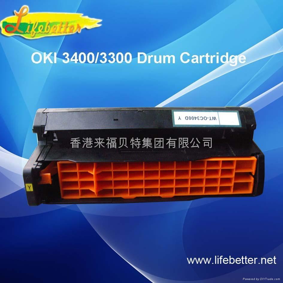 国产代用 OKI C3400粉盒 OKI3400墨粉 OKI C3400碳粉 2