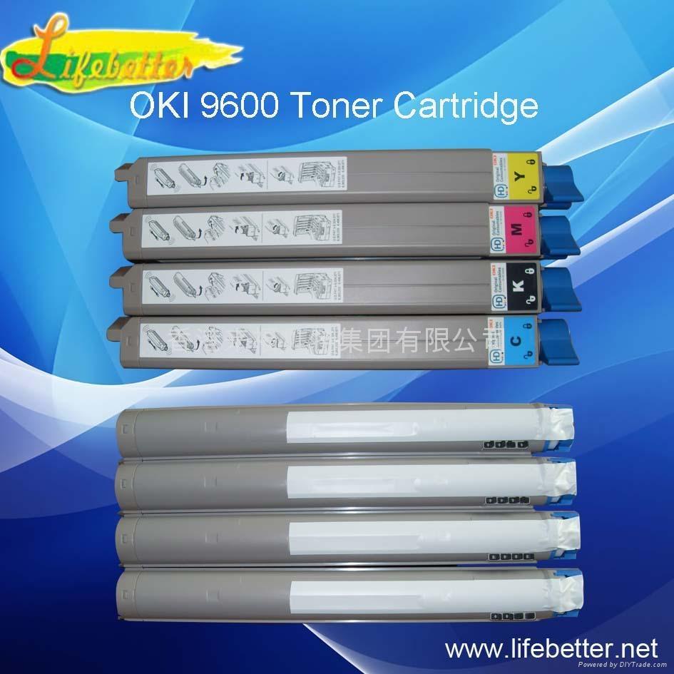 OKI C9600粉盒OKI C9600碳粉匣 OKI9600墨粉 1