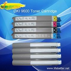 OKI C9600粉盒OKI C9600碳粉匣 OKI9600墨粉