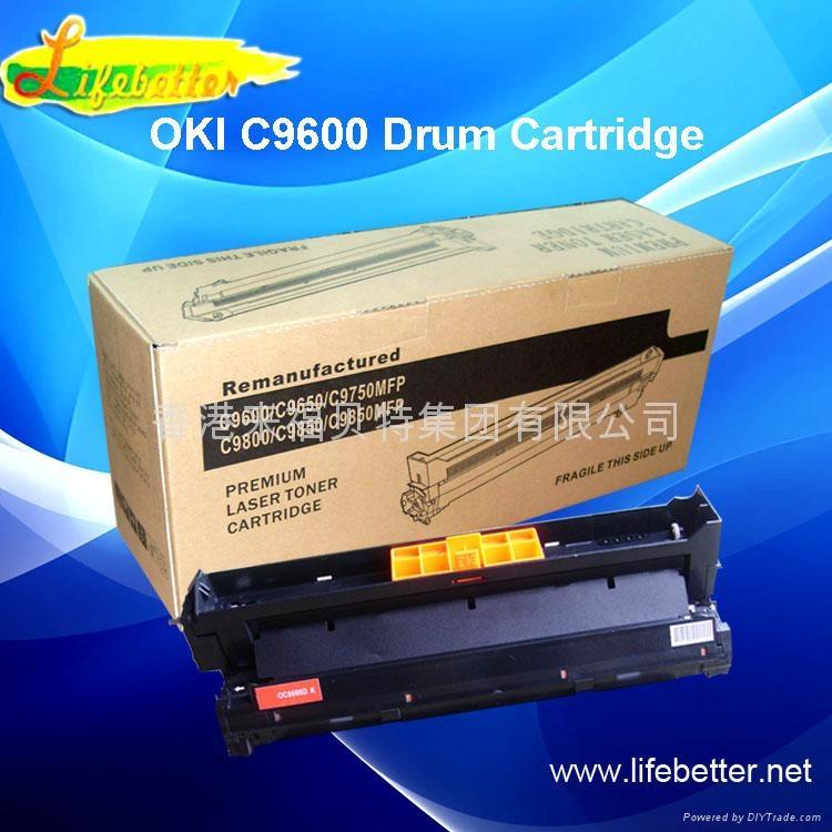 OKI C9600粉盒OKI C9600碳粉匣 OKI9600墨粉 2