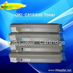 国产代用OKI810粉盒 OKI C810碳粉匣 OKI C810墨粉