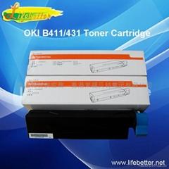 全新国产OKI B431粉盒 OKI431墨粉 OKI B4
