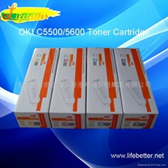 Compatible OKI C5650 toner cartridge.
