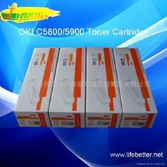 国产代用OKI C5850粉盒 OKI5850墨粉 OKI C5850碳粉匣