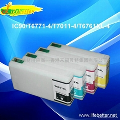 Compatible ink cartridge for T6771 T6772 T6773 T6774