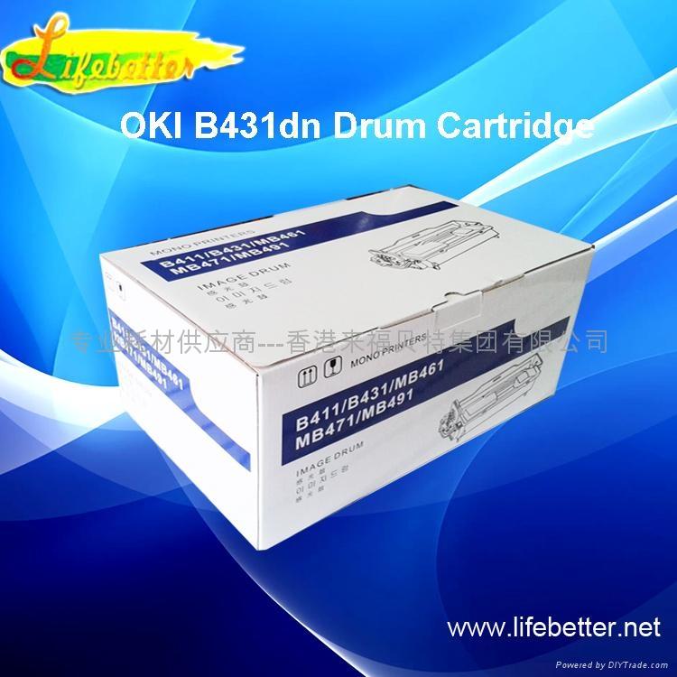国产代用OKI B431硒鼓 OKI431硒鼓 OKIB431鼓组件 1