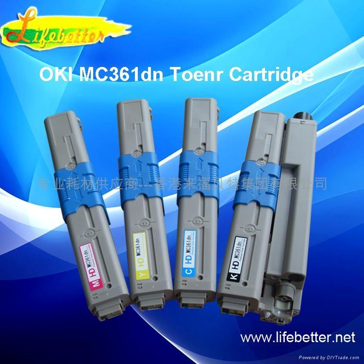 國產代用OKI MC361dn粉盒 OKI361墨粉 OKI MC361dn墨粉 1