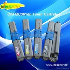 國產代用OKI MC361dn粉盒 OKI361墨粉 OKI MC361dn墨粉