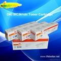 国产代用OKI MC361dn粉盒 OKI361墨粉 OKI MC361dn墨粉 2
