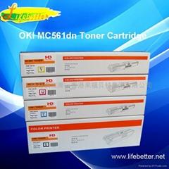 国产代用OKI MC561粉盒 OKI561碳粉 OKI M