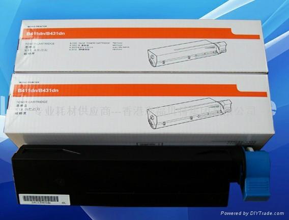 全新国产OKI B431dn粉盒 OKI431粉盒 OKI B431墨粉 1
