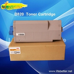 Compatible toner cartridge with high volume of OKI B820 and OKI B840