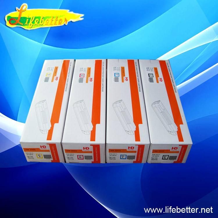 再生代用OKI C610dn 粉盒  OKI610dn墨粉 OKI610碳粉 1
