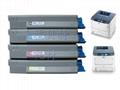Compatible Toner Cartridge for Use in OKI C610 Printer. 2