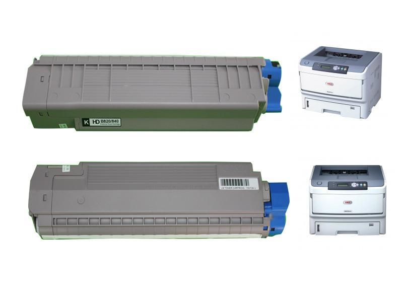 OKI B820空匣 OKI820空粉盒 OKIB820空碳粉匣 1
