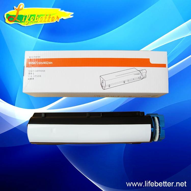 兼容粉盒OKI45807106适用于 OKI MB492dn 黑白打印机 1