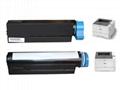 New Compatible 3K Toner Cartridge OKI45807122 for use in Okidata B412dn,B432dn 4