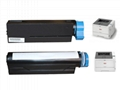 New 3K Toner Cartridge OKI45807103 for