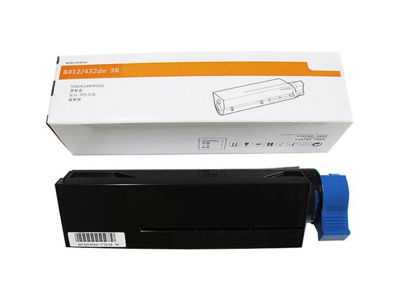 高品质墨粉3K可替代OKI45807103适用于OKI B412dn/B432dn/MB472dn/MB492dn 3